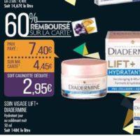 Crème Lift+ Diadermine chez Match (19/11 – 24/11)