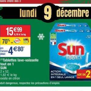 Tablettes Lave Vaisselle Sun Chez Cora Le 09 12 Catalogues Promos Bons Plans Economisez Anti Crise Fr