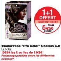 Coloration Pro Color chez Monoprix (20/11 – 01/12)