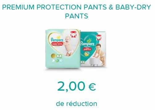 Pampers 2 De Reduction Jusqu Au 30 09 2020 Bon De Reduction A Imprimer Sur Pampers Catalogues Promos Bons Plans Economisez Anti Crise Fr