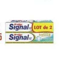 Dentifrice Signal Intégral chez Géant Casino (25/11 – 08/12)