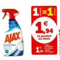 Nettoyant Ménager Ajax chez Magasins U (19/11 – 22/11)