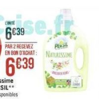Lessive Liquide Naturissime Persil chez Géant Casino (25/11 – 08/12)