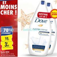 Gel Douche Dove chez Carrefour (26/11 – 02/12)