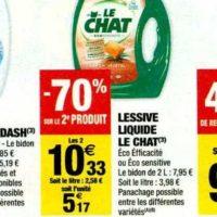 Lessive Liquide Le Chat chez Carrefour Market (12/11 – 24/11)