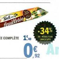 Pâte à Tarte Herta chez Leclerc Sud-Ouest (19/11 – 30/11)