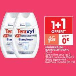 Dentifrice Teraxyl chez Leader Price (19/11 – 24/11)