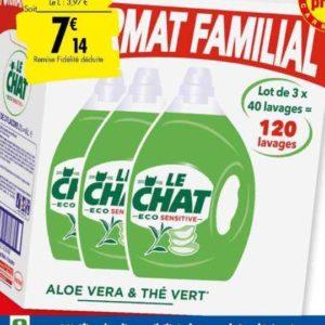 Lessive liquide Le Chat chez Carrefour (12/11 – 18/11)