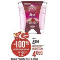 Bougie Parfumée Glade chez Géant Casino (18/11 – 01/12)