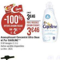 Assouplissant Cajoline chez Géant Casino (25/11 – 08/12)