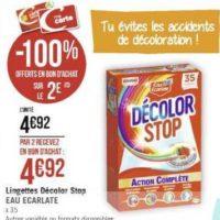 Lingettes Décolor Stop chez Géant Casino (11/11 – 24/11)