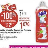 Liquide Vaisselle Mir chez Casino (11/11 – 24/11)