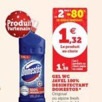 Gel WC Domestos chez Magasins U (26/11 – 07/12)