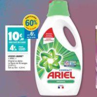 Lessive Liquide Ariel chez Leclerc Nord-Est (19/11 – 23/11)