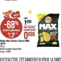 Chips Lay's Max chez Géant Casino (02/12 – 15/12)