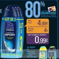 Gel Douche Fa chez Match (19/11 – 24/11)