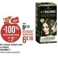 Kit Racines Schwarzkopf chez Géant Casino (25/11 – 08/12)