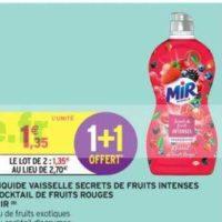 Liquide Vaisselle Mir chez Intermarché (19/11 – 01/12)