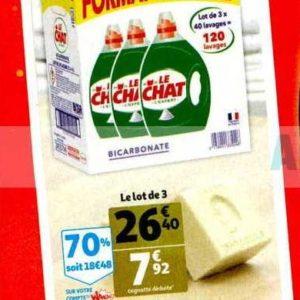 Lessive Liquide Le Chat chez Auchan Supermarché (20/11 – 26/11)