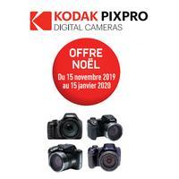 Offre de Remboursement Kodak : Jusqu'à 50€ Remboursés sur Appareil Photo Bridge