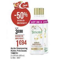 Après-shampoing Timotei chez Géant Casino (11/11 – 24/11)