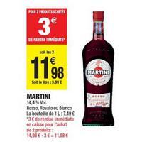 Apéritif Martini chez Carrefour Market (10/12 – 24/12)