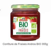 Confiture Bio Andros partout (19/11 – 19/12)