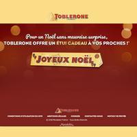 Bon Plan Toblerone : 1 Etui Cadeau Offert