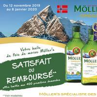 Offre de Remboursement Möller's : Huile de Foie de Morue Satisfait ou 100% Remboursé