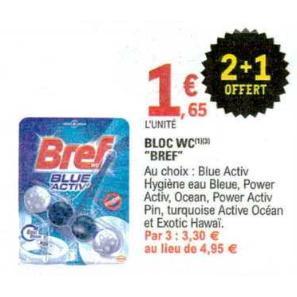 Bloc WC Bref chez Leclerc (19/11 – 30/11)