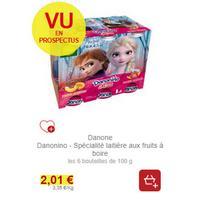 Yaourts à Boire Danonino chez Intermarché (19/11 – 30/11)