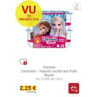 Mon Yaourt Rigolo Danonino chez Intermarché (19/11 – 30/11)