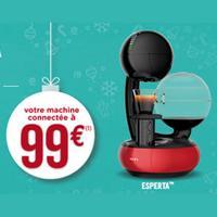 Offre de Remboursement Krups : Machine Esperta Connectée à 99€
