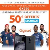 Bon Plan Gigaset : Carte Cadeau de 50€ Décathlon Offerte