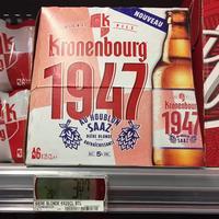 Bière Kronenbourg 1947 chez Intermarché (30/11 – 01/12)