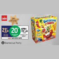 Bon Plan Goliath : Barbecue Party à 6,54€ chez Intermarché (11/11 – 17/11)