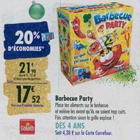 Bon Plan Goliath : Barbecue Party à 6,57€ chez Carrefour (11/11 – 17/11)