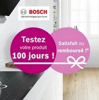 Offre d'Essai Bosch : 100% Satisfait ou 100% Remboursé