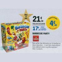 Bon Plan Goliath : Barbecue Party à 6,35€ chez Leclerc (11/11 – 17/11)