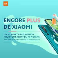 Bon Plan Xiaomi : Bracelet Connecté Mi Smart Band 4 Offert