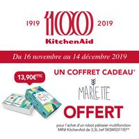 Bon Plan KitchenAid : Coffret Cadeau Marlette Offert