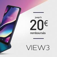 Offre de Remboursement Wiko : Jusqu'à 20€ Remboursés sur Smartphone View3