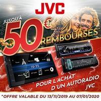 Offre de Remboursement JVC / Kenwood : Jusqu'à 50€ Remboursés sur Autoradio