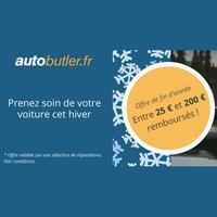 Offre de Remboursement AutoButler : Jusqu'à 200€ Remboursés sur Réparations