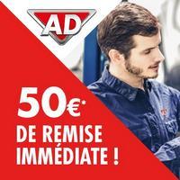 Garages AD : Bon d'achat de 100€ à moitié prix