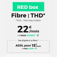 15€ la Box sfr red Adsl (22€ en fibre )