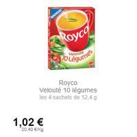 Soupe Instantanée Royco partout