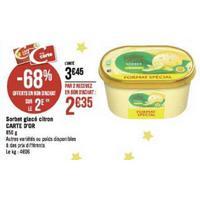 Glace en bac Carte D'or chez Géant Casino (02/12 – 15/12)