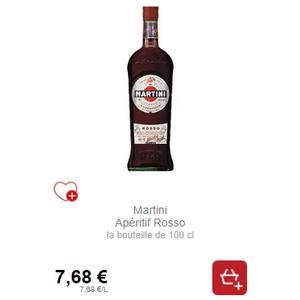 Apéritif Martini (voir liste des enseignes) (18/11 – 20/12)