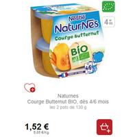 NaturNes Bio Fruits ou Légumes Nestlé Bébé partout (18/11 – 23/12)